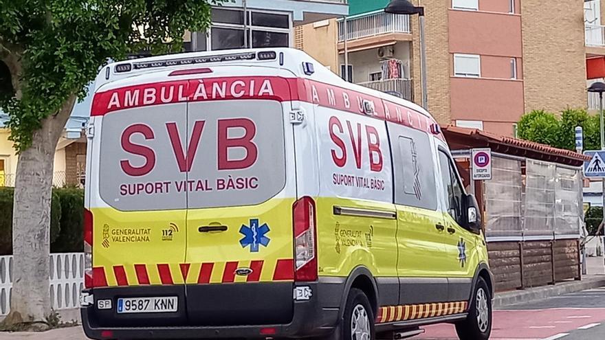Asistida una mujer de una herida en la cabeza tras ser atacada por un perro en Sant Vicent
