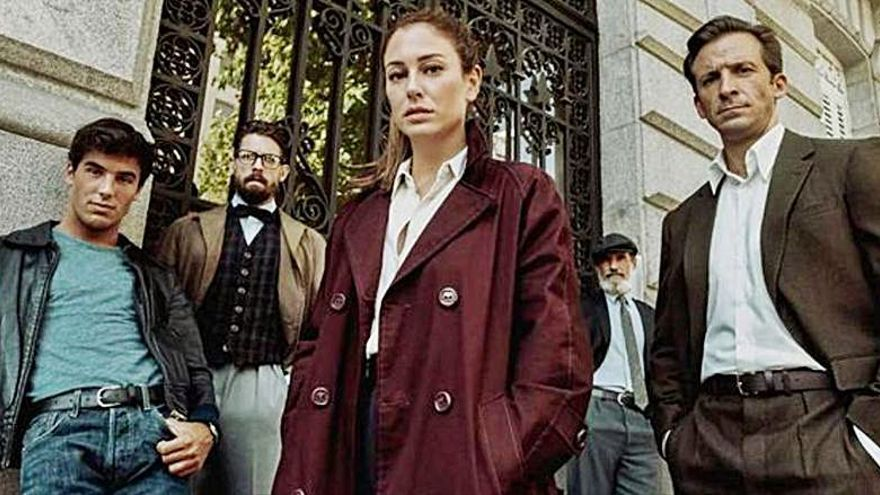 Blanca Suárez se convierte en una 'cazanazis' en la serie 'Jaguar'