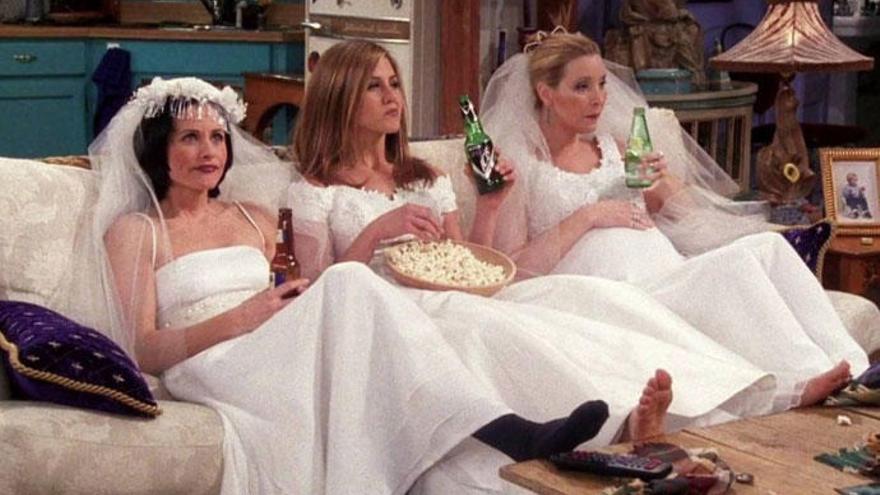 Las chicas de 'Friends' se reúnen entre rumores de vuelta