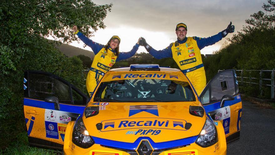 Los junior del Recalvi Team debutan en el Rallye Rías Baixas