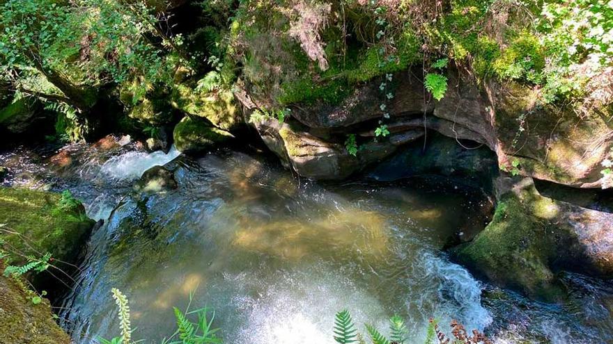 Los saltos del agua