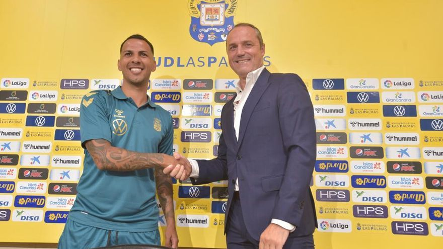 Presentación oficial de Jonathan Viera como jugador de la UD Las Palmas