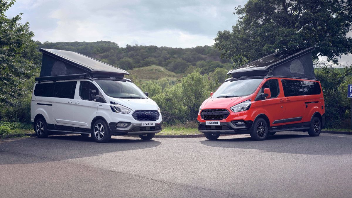 Nuevas Ford Transit Custom Nugget Active y Trail: dos campers para los más atrevidos