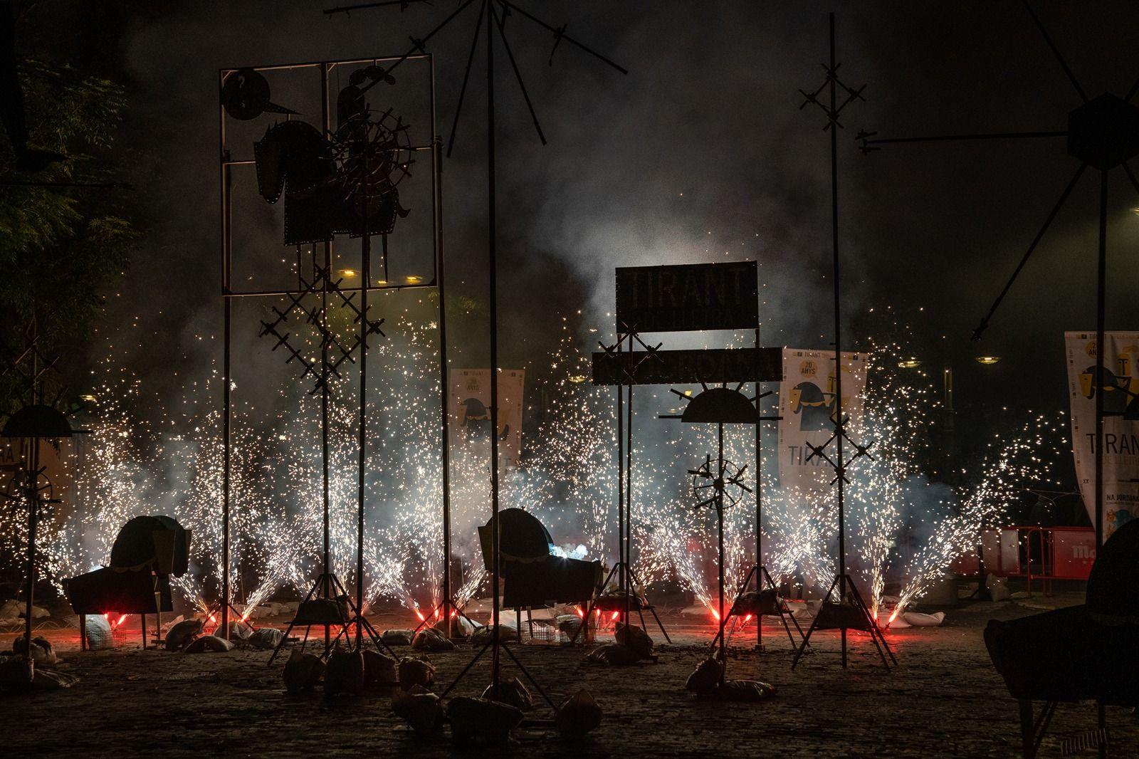 El fuego vuelve a Na Jordana con el Tirant de Lletra