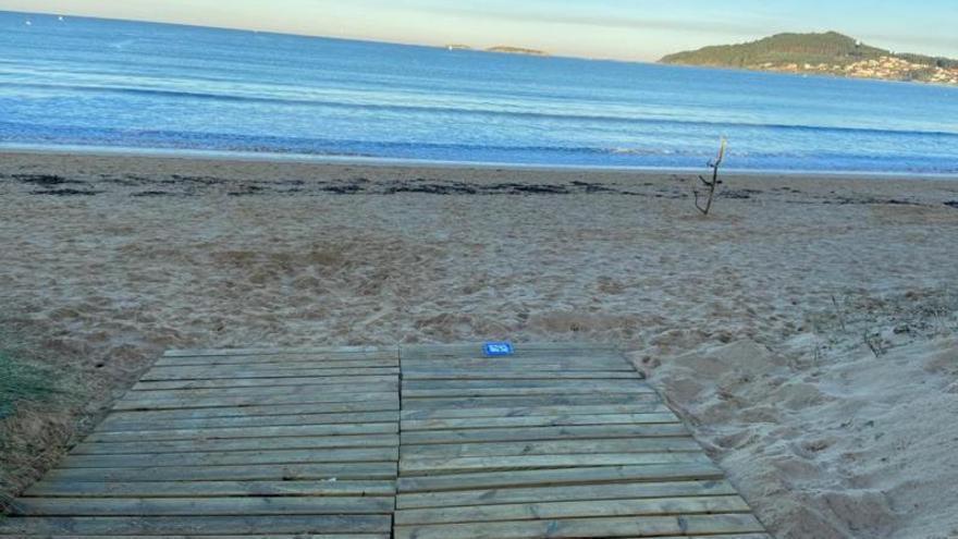 Praia América derriba barreras físicas