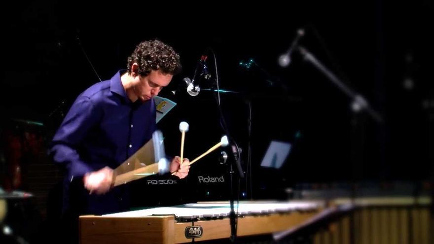 El percusionista Juan Javier Rodríguez estrena las matiné de Noon en la Sala Timanfaya