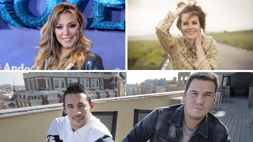 Gisela, Andy & Lucas y Lys Pardo, estrellas en las fiestas de Portonovo