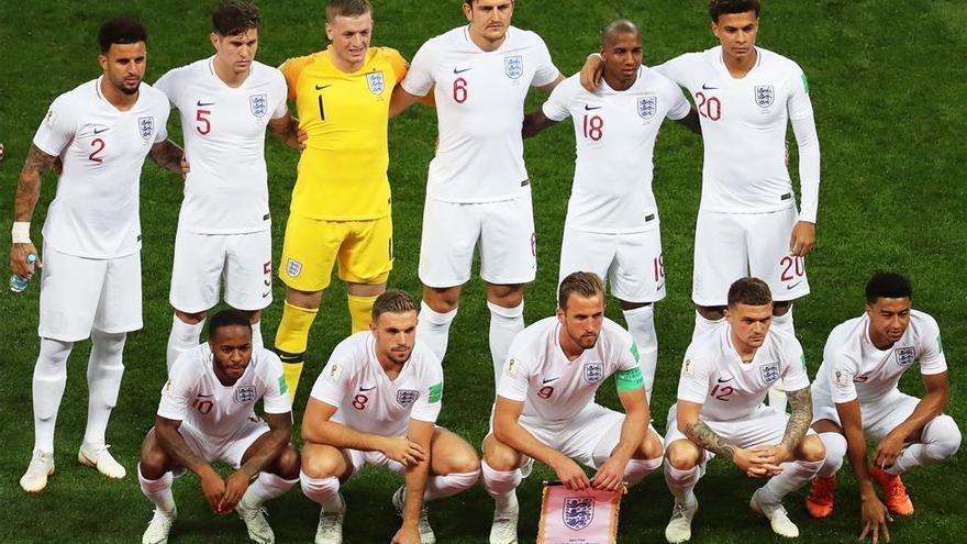 Así jugó Inglaterra