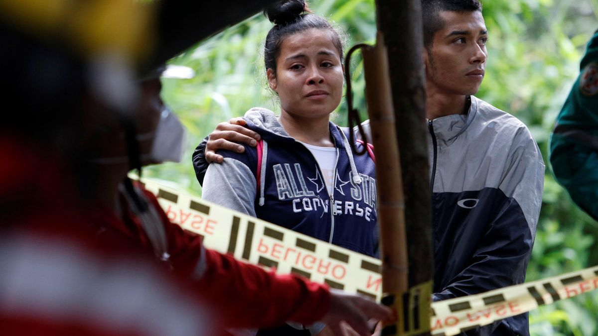 Los equipos de rescate siguen trabajando en Colombia.