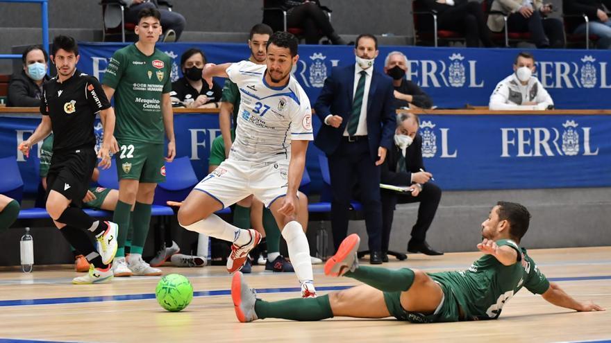 El Córdoba Futsal cae ante el O Parrulo pero evita el descenso directo