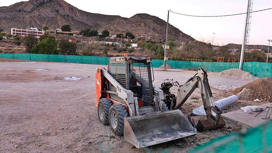 Comienzan a construir en Elda la mayor pista de España para ciclistas de montaña
