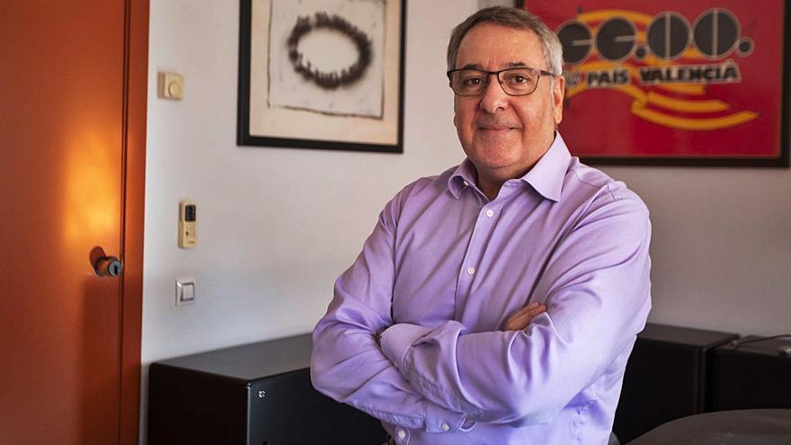 El líder de CC OO dimite tras la polémica por su vacunación de la covid