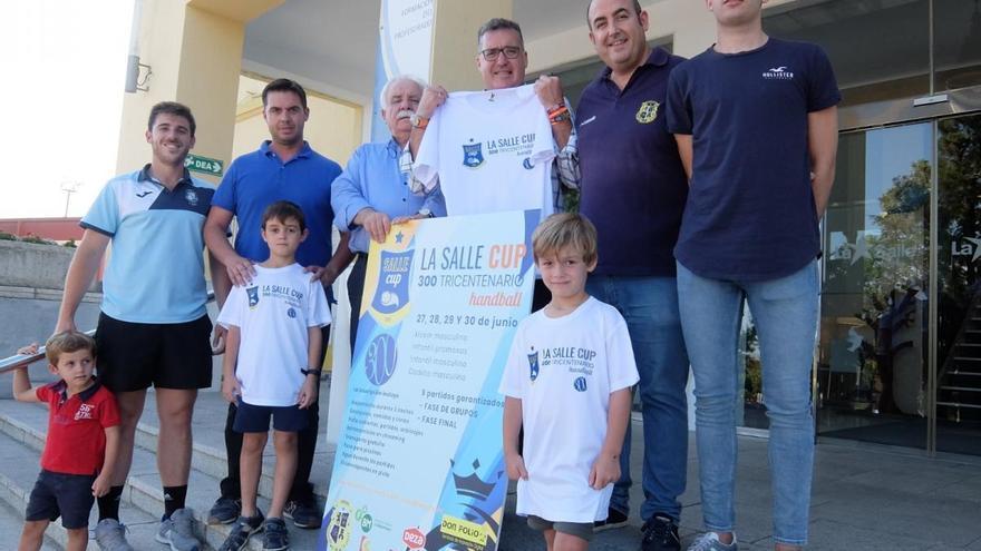 El CD La Salle organiza su primer torneo de balonmano Tricentenario Juan Bautista