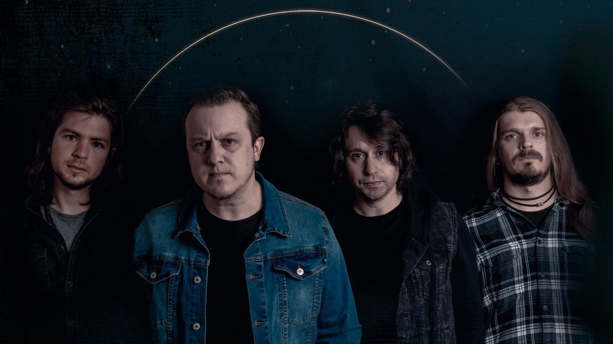 Luis Kleiser, Joss Mayoral, Andrés MacMalo y Nacho Prol con The Kleejoss Band.