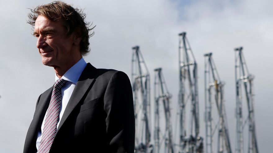 Jim Ratcliffe, fundador y CEO de Ineos.