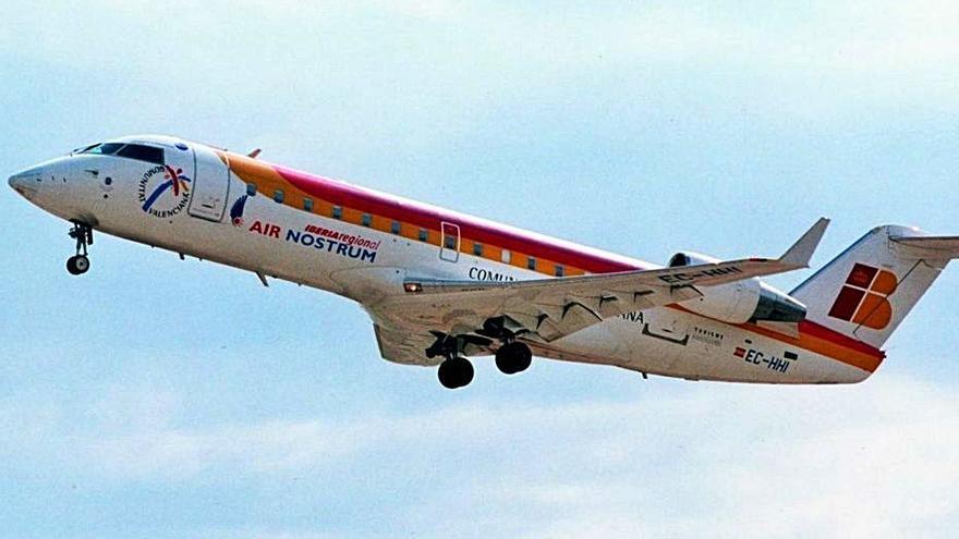 Air Nostrum admite que se enfrenta a una situación «crítica» por la pandemia