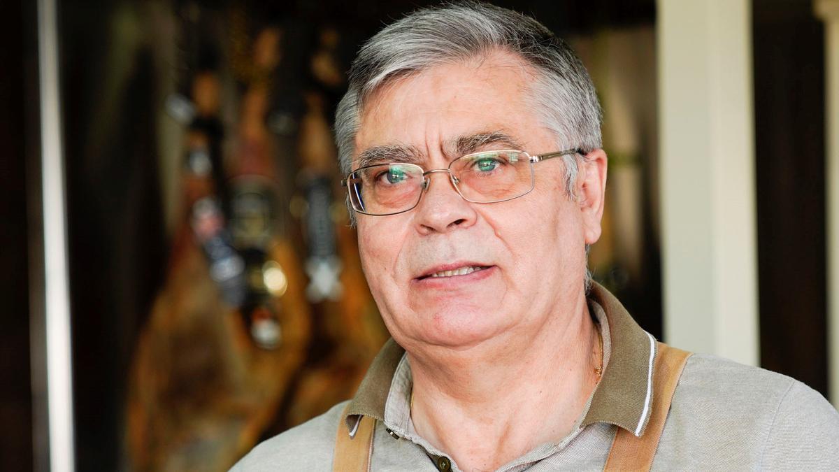 Juan Dueñas, gerente de Taberna el Rincón de Juan.