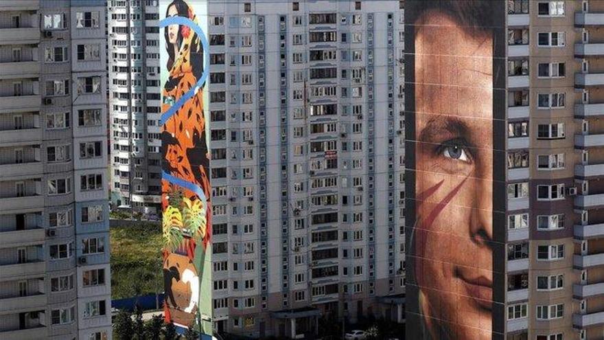 Odintsovo, la ciudad rusa de los grafitis colosales
