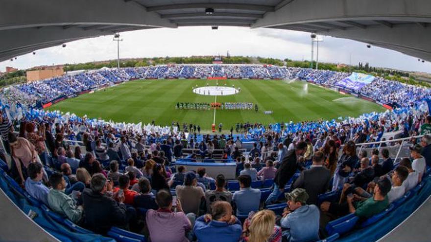 El Tenerife elige Butarque como estadio alternativo