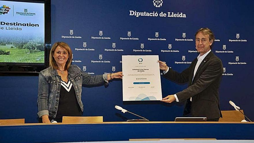Les comarques del Pirineu de Lleida reben el segell «Biosphere Destination»