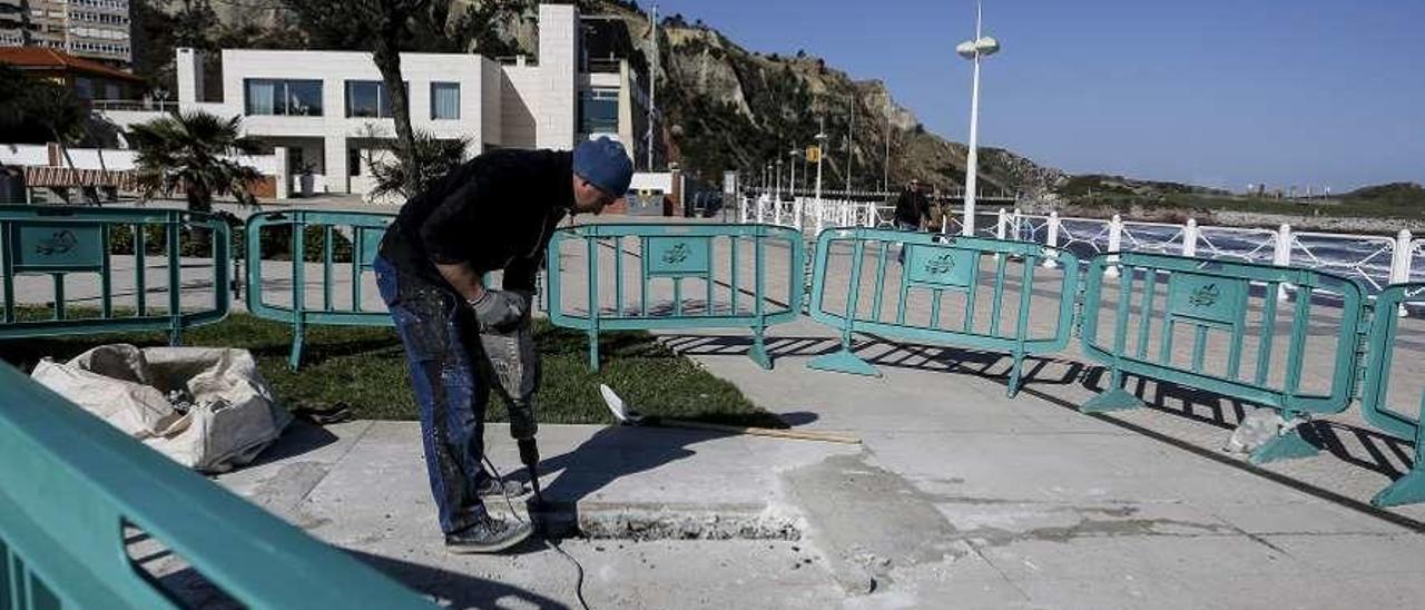 El primer paso para la obra a las víctimas del terrorismo costará 25.000 euros