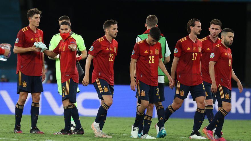 España sigue con el maleficio y deberá ganar a Eslovaquia para seguir en la Eurocopa
