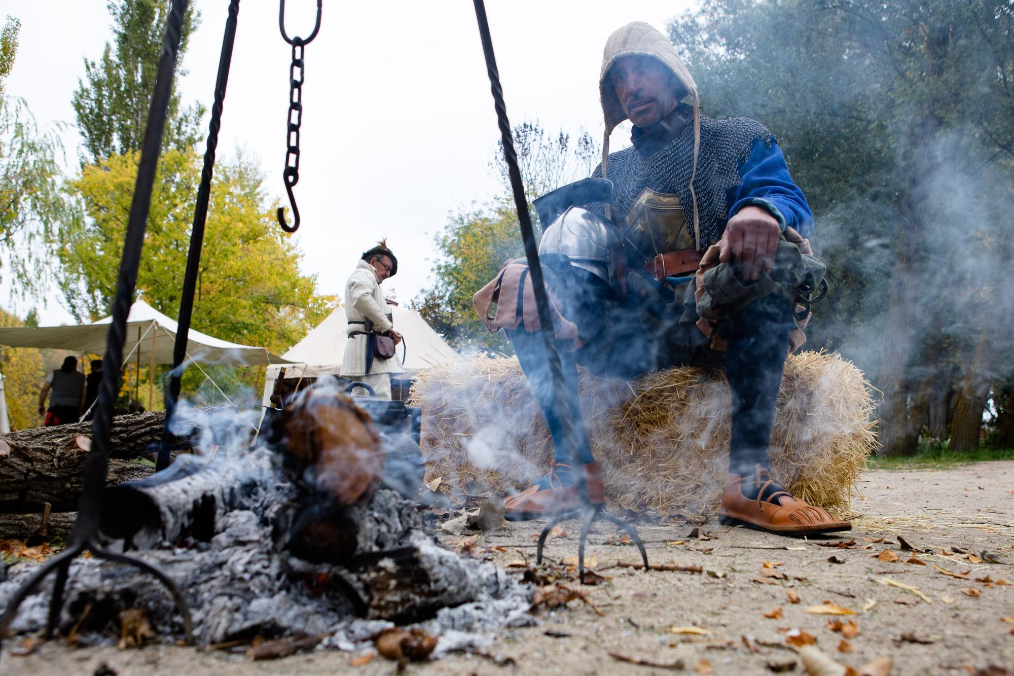 Recreación del Campamento Comunero en las Aceñas de Cabañales.