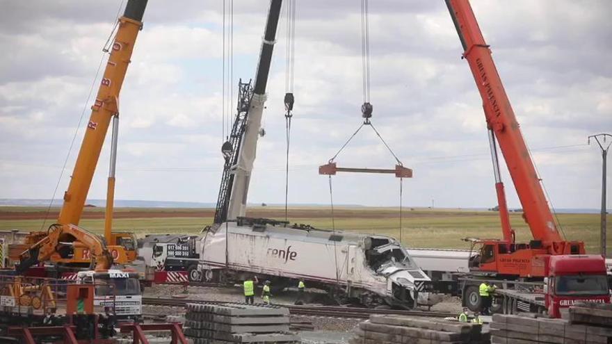 El coste económico del accidente de tren en La Hiniesta: 21 millones de euros