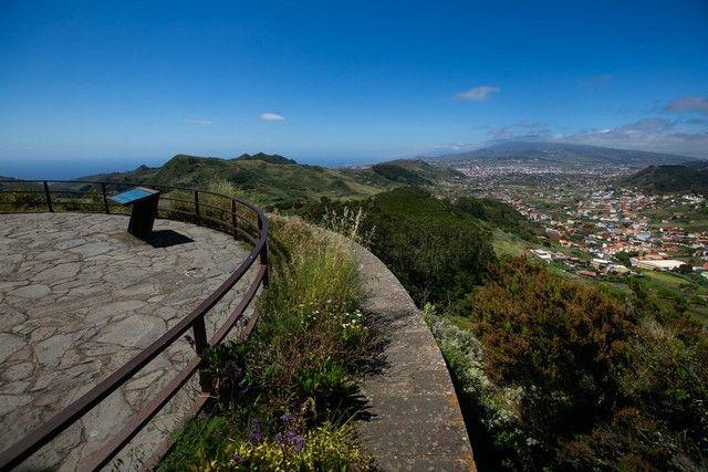 Miradores del Pico del Inglés, Jardina y Ortuño, en Tenerife