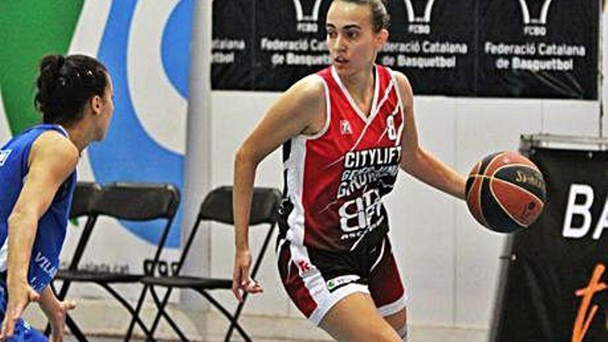 Núria Bagaria, a la selecció sub-20 amb Èric Surís