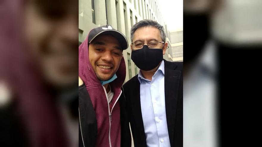 Bartomeu ignora a los periodistas a su llegada a los juzgados para declarar por el 'Barçagate'