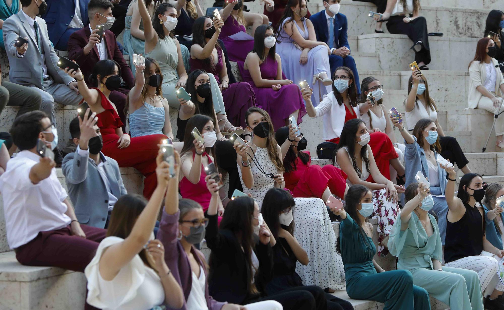 Graduación del IES Clot del Moro en el Teatro Romano de Sagunt.