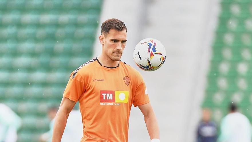 """Dani Calvo: """" En casa estamos en buena dinámica y el miércoles tenemos un partido crucial"""""""