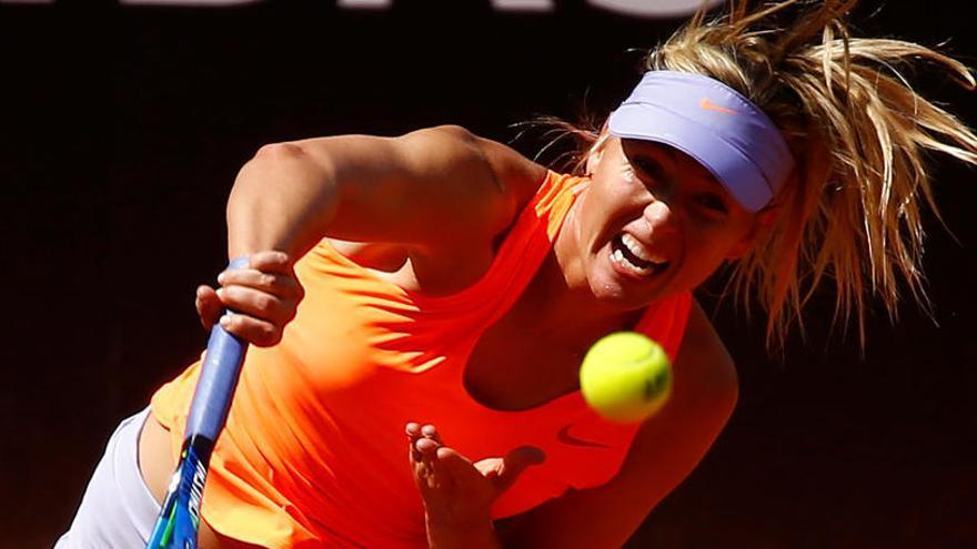 Roland Garros deja fuera del torneo a Maria Sharapova