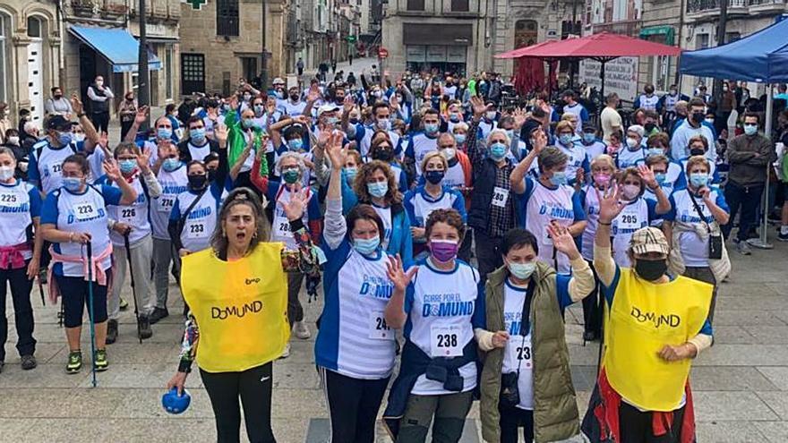 Más de 300 personas corrieron por el Domund en Verín