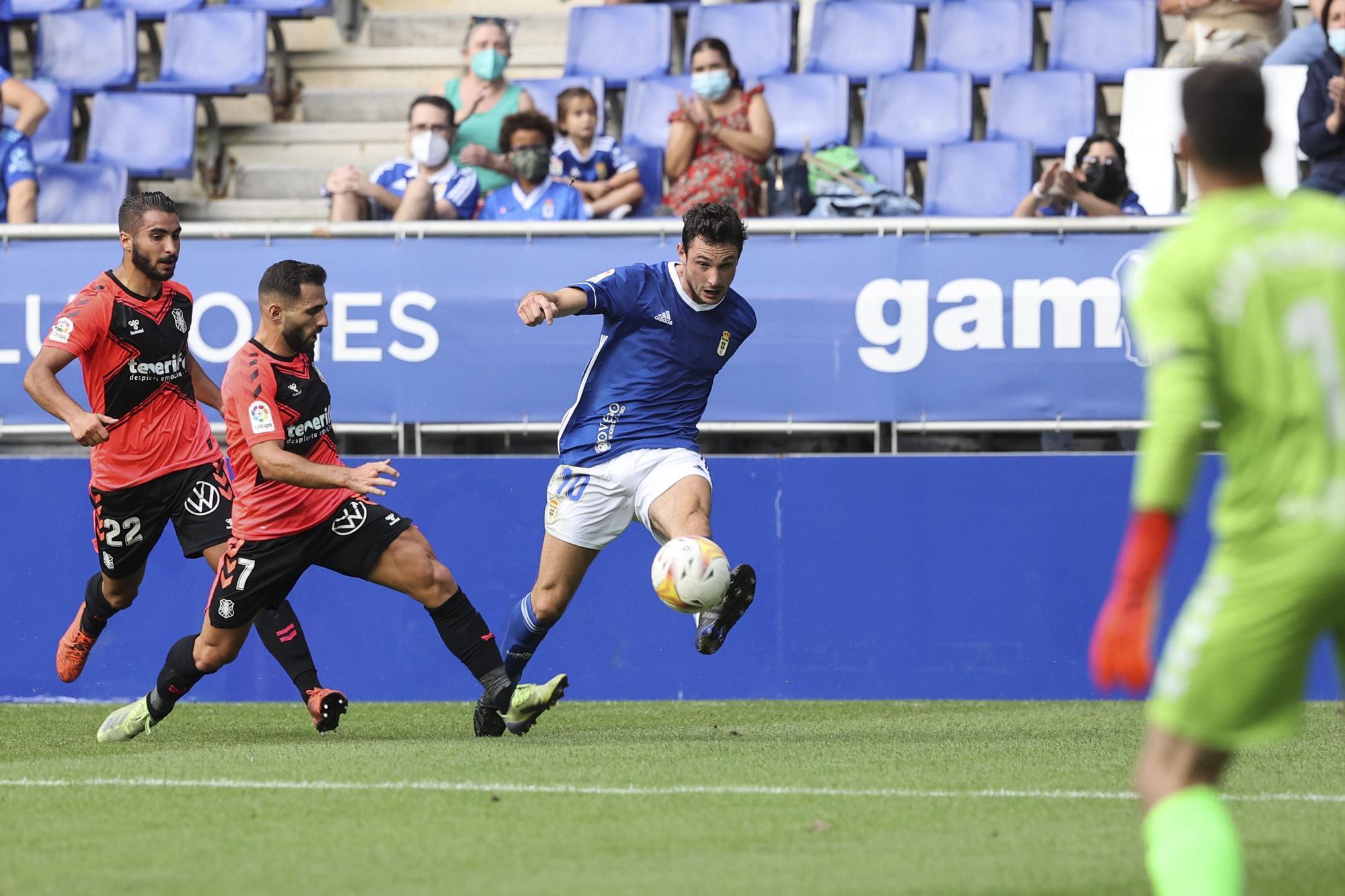 EN IMÁGENES: Así fue el Real Oviedo-Tenerife