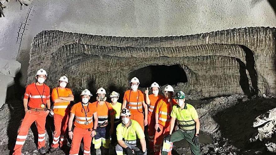 ICL connecta finalmentla rampa de Cabanasses  amb l'interior de la mina