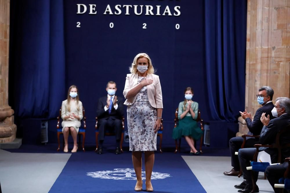 Carmen Palomo Antequera, facultativa de Medicina Interna del HUCA.