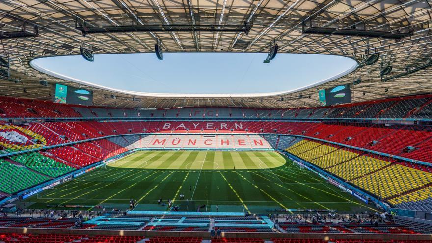 La UEFA rechaza que el estadio de Múnich se ilumine con los colores del arcoíris en apoyo a la diversidad sexual