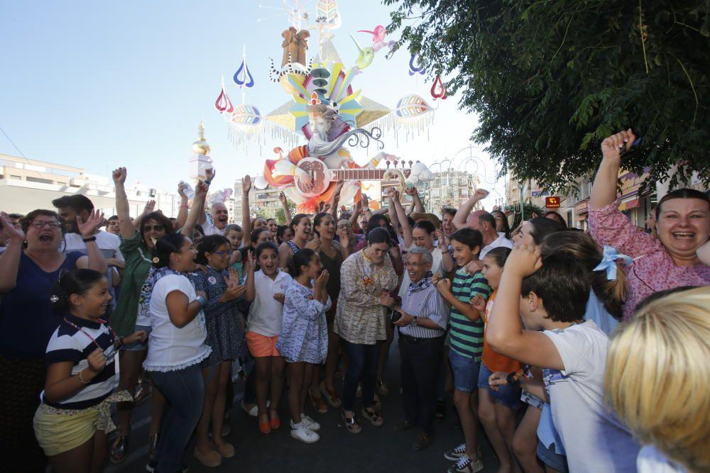 La Hoguera Sèneca-Autobusos celebra el primer premio