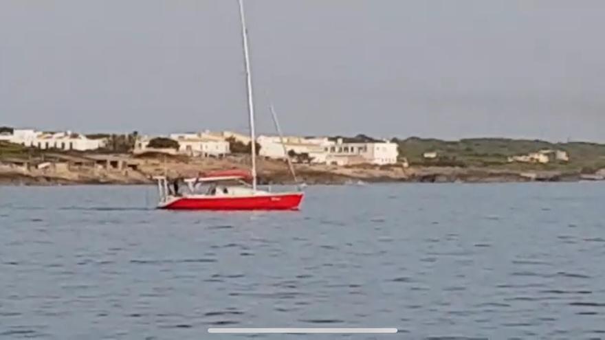 Desembarco de migrantes en Formentera