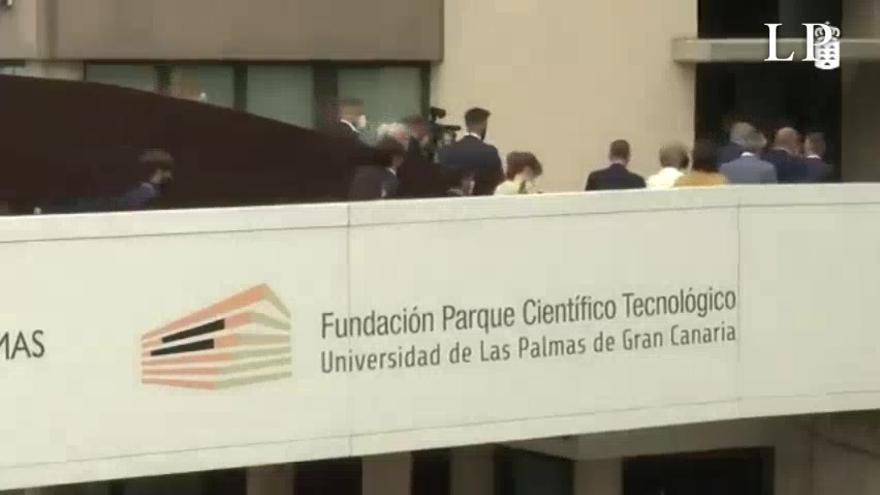 La ministra Calviño visita el Parque Científico de la ULPGC