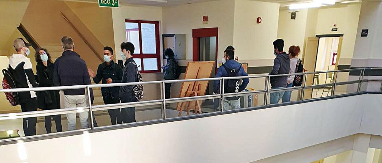 Escuela de idiomas de Vigo.     // MARTA G. BREA