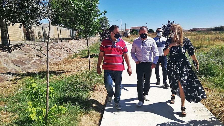 La Diputación de Zamora abordará la reparación del camino de Benegiles a Torres