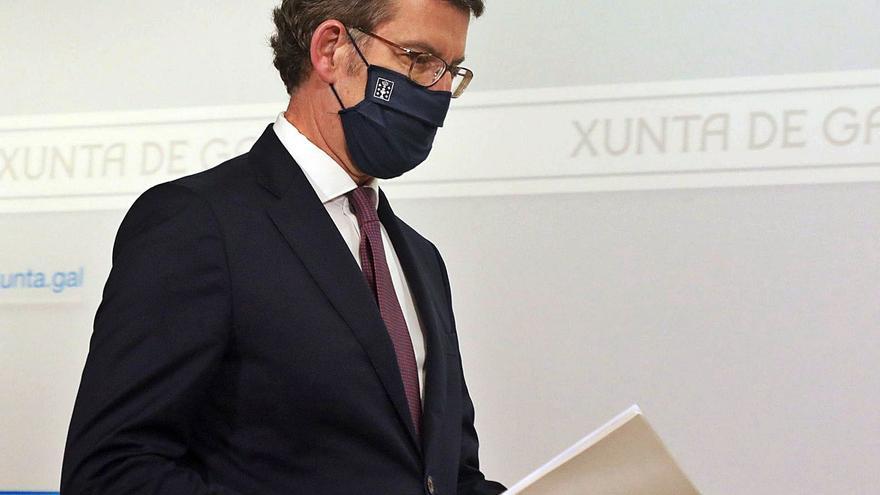 La Xunta insta a un autoconfinamiento ante el avance de la pandemia