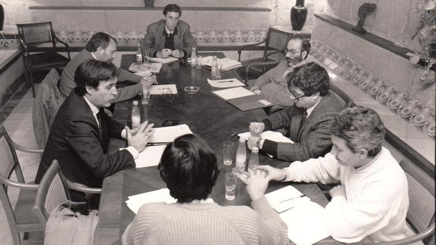 1989, hace más de 30 años, desde la UMU se alertaba sobre el estado del Mar Menor