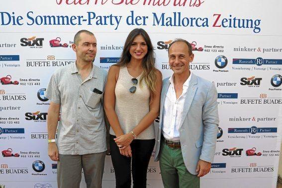 Thomas Fitzner, Estefania Moll, Sebastian Oliver.