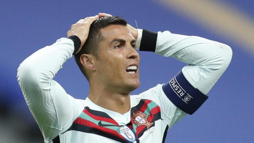 Cristiano Ronaldo da positivo en una prueba de coronavirus