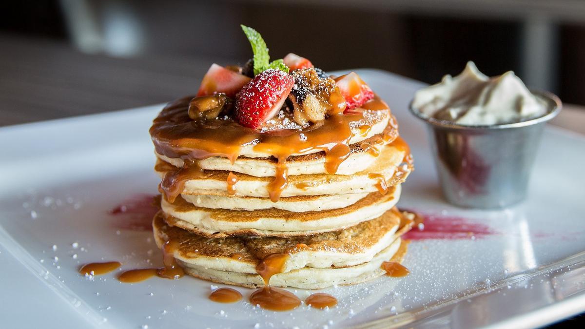 Receta tortitas   Dos recetas para hacer pancakes en casa