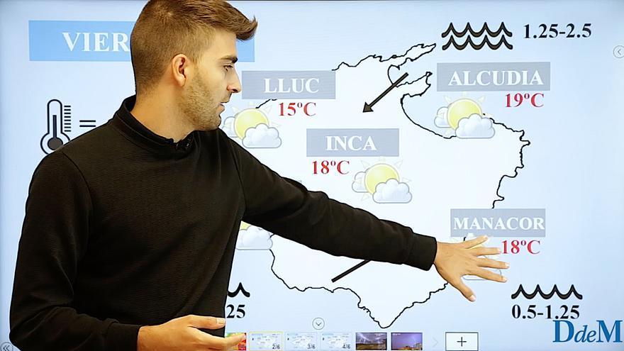 El tiempo del fin de semana en Mallorca: Llega el anticiclón